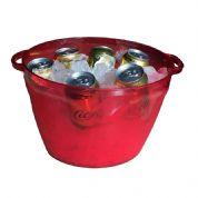 Balde para gelo multi-uso para bebidas em lata, pet, vidro e até para pipocas em material super resistente pp ou acrílico menos resistente ao cair no...