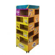 Neo Pack Displays - Display de chão modular. Material para ponto de venda. Impressão Off-set. Display de chão modular para compor mais de uma marca/produto no PDV. Visão...