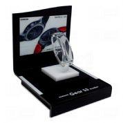 Acril Designer - Display exclusivo expositor, criado para campanha Samsung Smartwatch Gear S3, feito em acrílico, com impressão digital, corte a laser e colagem especi...