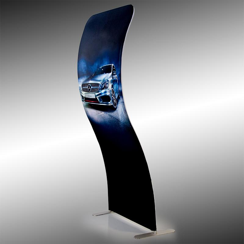 A linha Display Prime Wall Pack tem estruturas portáteis feita em alumínio reforçado e vestido com uma comunic...