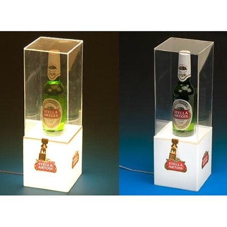 Acrílicos Bristol - Display de acrílico cristal iluminado.