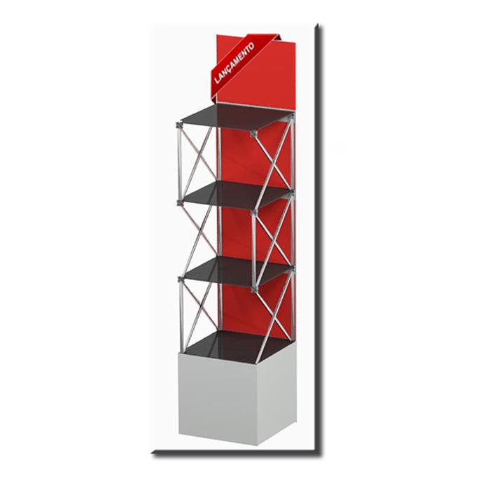 Dexpo Displays - Prateleira pantográfica. Portátil, fácil de montar com a garantia Dexpo.