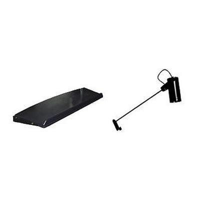 Prateleiras e spot de luz (110volts ou 220volts) para equipamento instand Opcional