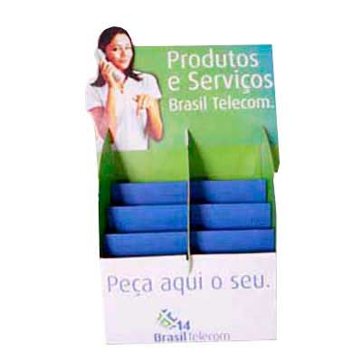 Display em Pvc, PP ou PS.