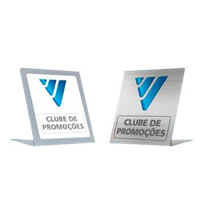 Display em Pvc, PP ou PS, medida personalizada.