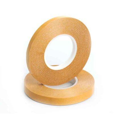 Fitas adesivas dupla face em PVC com 0,320mm de espessura.