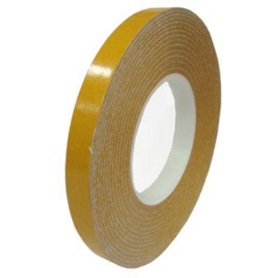 Fitas adesivas dupla face em PVC com 0,240mm de espessura.