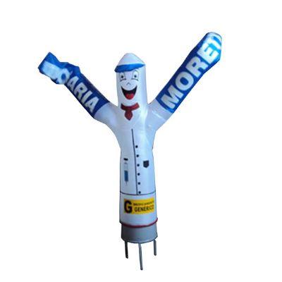 Boneco inflável personalizado. Divulgue seus produtos de maneira criativa!