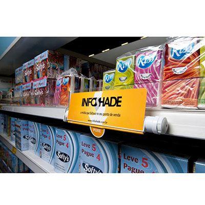 Infoshade - Uma mídia prática, versátil e com um grande diferencial: interage diretamente com o cons...