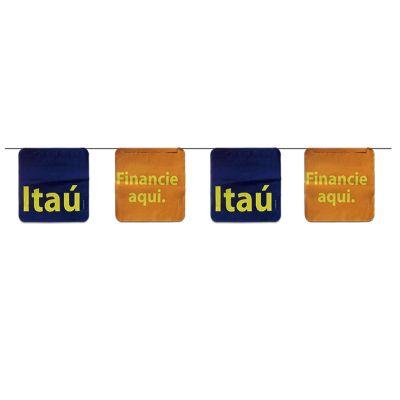 Bandeirola de plástico personalizada