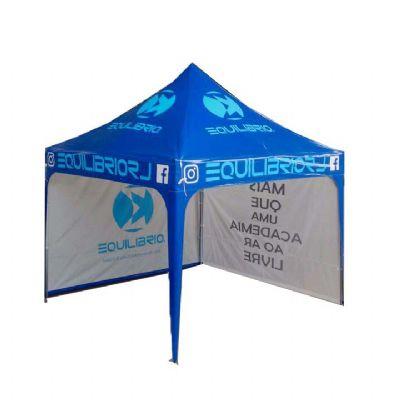Tenda Sanfonada 3x3 , personalizada, com fechamentos laterais