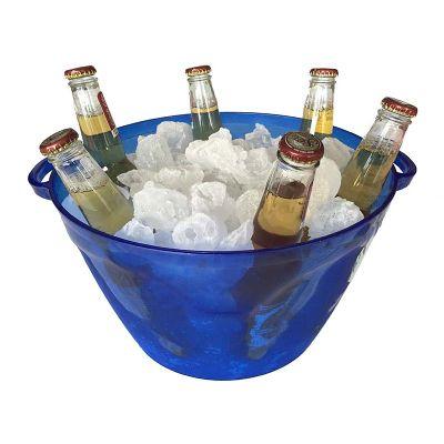 Balde para gelo multi-uso para bebidas em lata, pet, vidro e até para pipocas em material super resi...