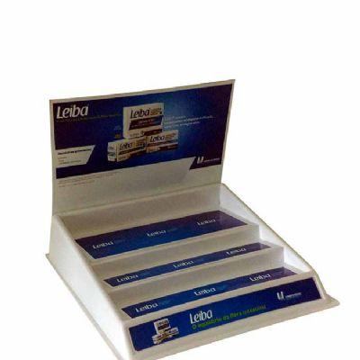 Display balcão c/ vacun form. São utilizados em lojas especializadas para exposição de produtos e os...