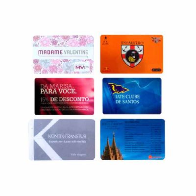 Cartão de PCV