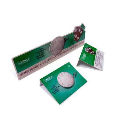 Faixa de gôndola e clip blister produzidos em P.S. Ou PVC Cristal ou PET. Impresso em OFF SET ou DIG...