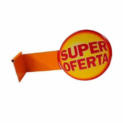Stopper promocional - Peça promocional muito usadas como sinalizador funcional perpendicular na gond...