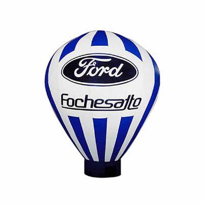 Balão Roof Top impressão com Iluminação.