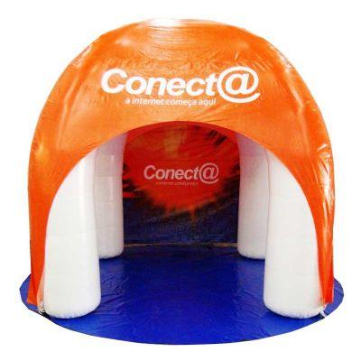 Tenda arco inflável