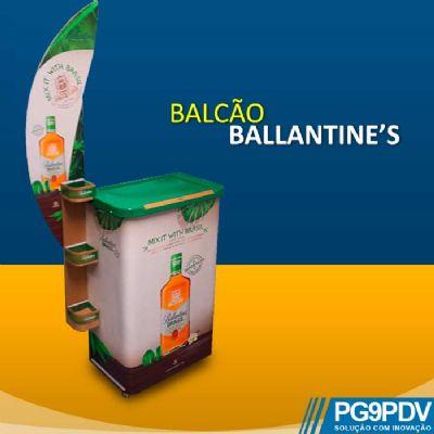 Balcão para degustação  Ballantine