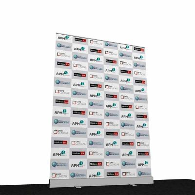 Porta Banner Roll-Up 140cm x 200cm