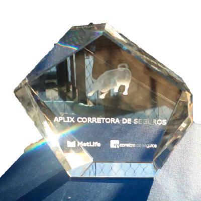 Cristal K9 personalizado