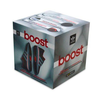 Cubo publicitário desenvolvido exclusivamente para Adidas, para promover a campanha boost, feito em...