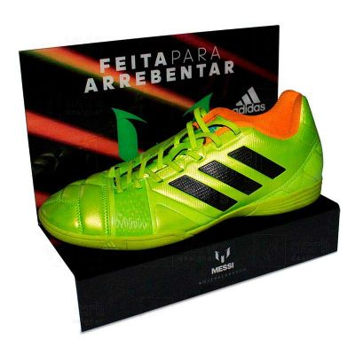 Shoe Shelf personalizado para Adidas, feito em PETG, com impressão digital e dobra. Desenvolva o seu...