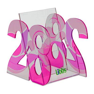 Display take one desenvolvido exclusivamente para Libbs, feito em acrílico, com impressão digital,...