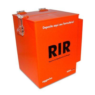 Urna personalizada, feita em acrílico, com impressão digital. Desenvolva o seu projeto com a gente.