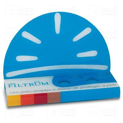 Display para PDV em acrílico, desenvolvido exclusivamente para campanha Libbs Linha Filtrum, com imp...