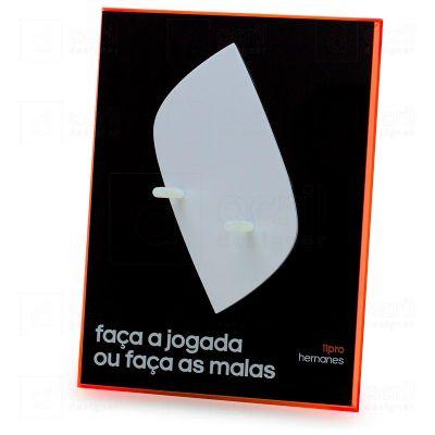 Display expositor personalizado para Adidas, feito em acrílico, com impressão digital, corte a las...