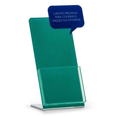 Take-One personalizado cartão pré-pago, feito em acrílico cristal, com impressão digital e colag...