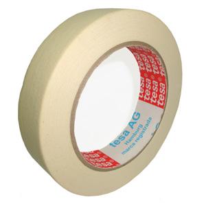 Fita crepe adesiva. Sua marca sempre próxima do cliente! Dados técnicos Larguras: 19, 25, 50mm Comprimento:...